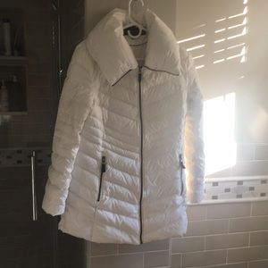Marc New York White Puffer Coat
